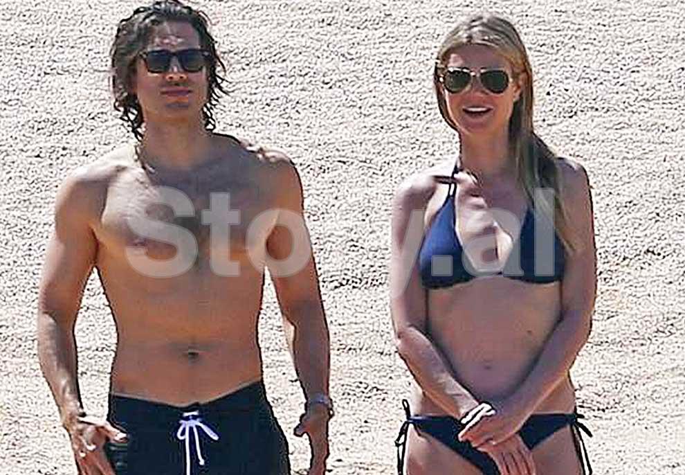 Gwyneth Paltrow pushime në Meksikë me të dashurin e ri