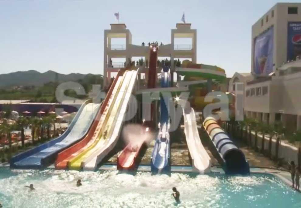 Zbuloni vendin në Tiranë ku pushohet si në Ibiza, çfarë po ndodh këto ditë të nxehta në Aquapark-un gjigand të Citypark