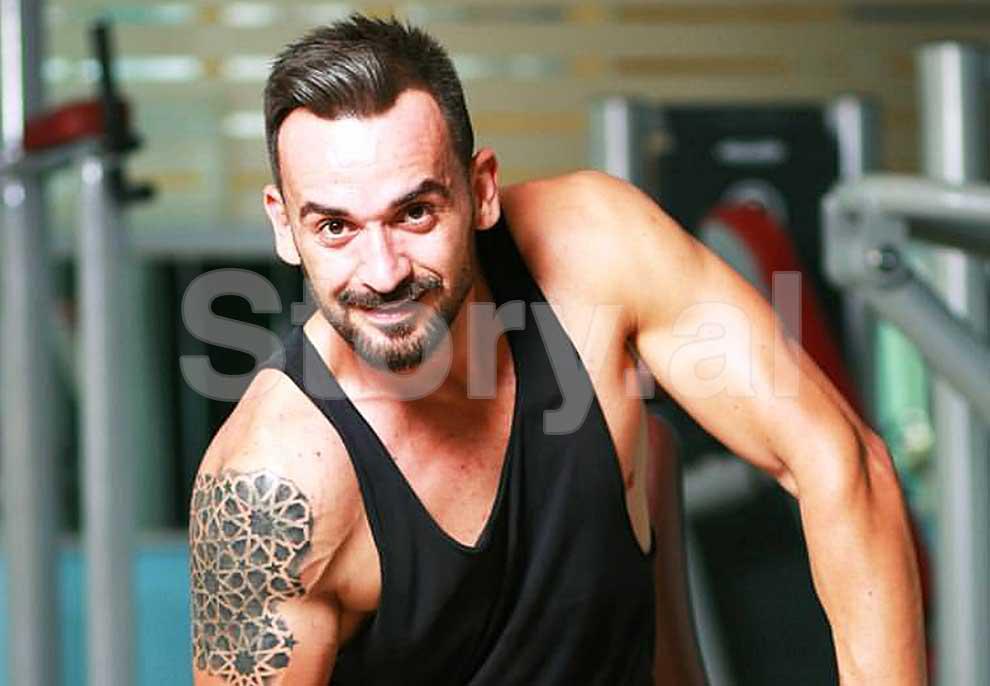 Florian Agalliu në shtator në Top Channel me trupin e modelit
