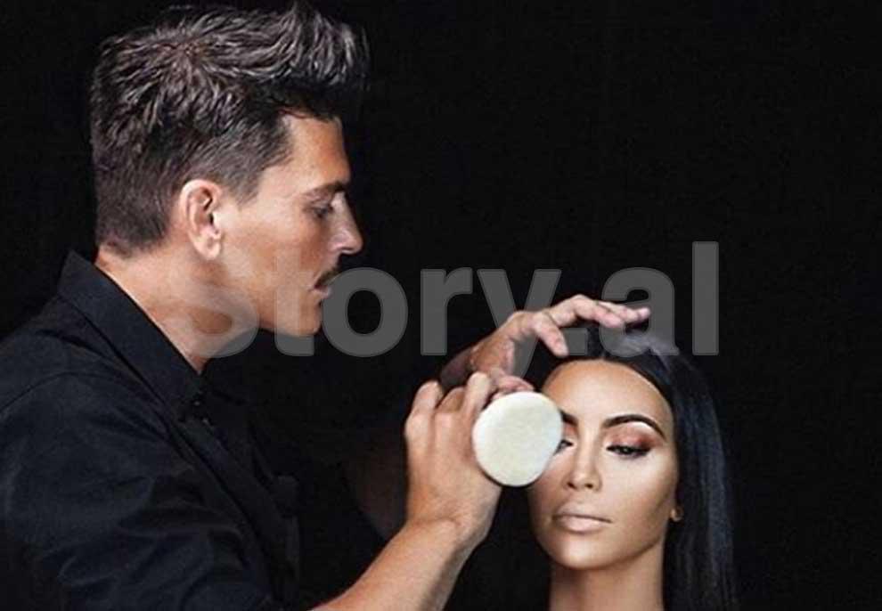 Mario i famshëm i Kim Kardashian së shpejti në Shqipëri, detaje nga vizita e grimierit