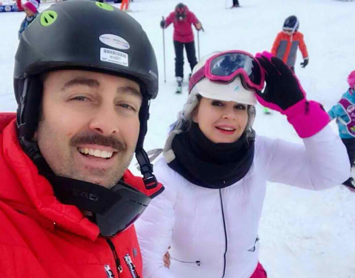 """""""Nxehtë dhe ftohtë"""", Rudina Magjistari ndan momentet e çmuara me Xhavitin në Zvicër"""