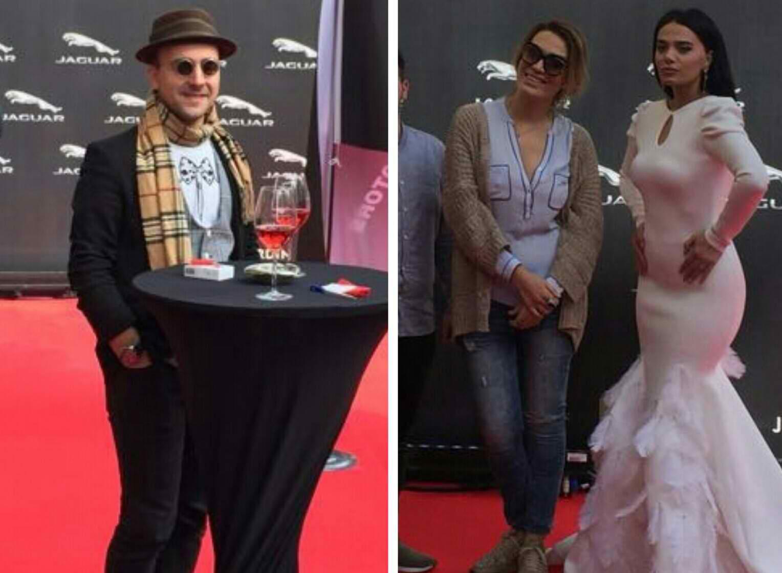 U miqësuan në televizion, Ori Kuçi merr Kristi Karkanaqen për të bërë show sot në eventin e makinës Jaguar E-Pace