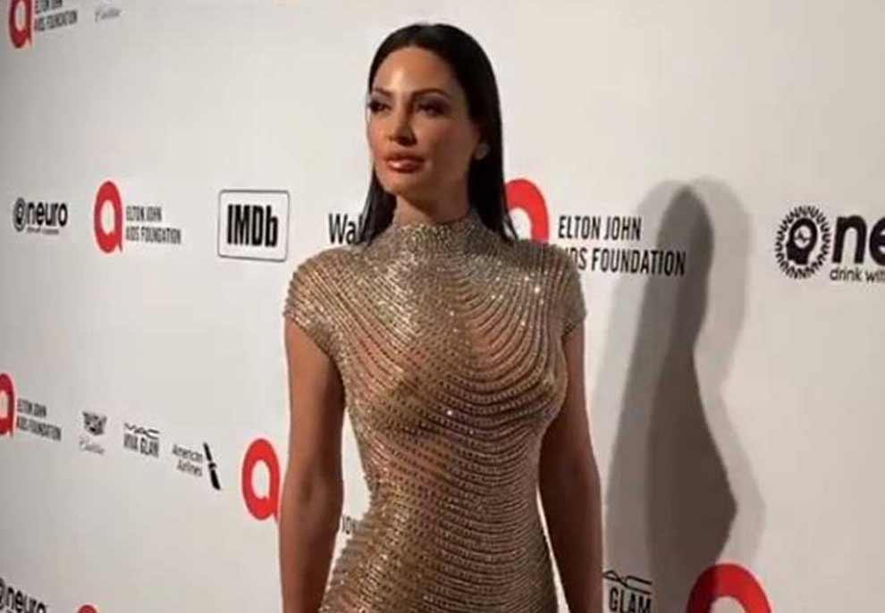 Bleona, sërish me fustan transparent në Oscars (Foto)