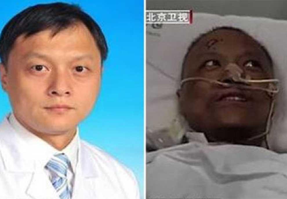 FOTO/ Zgjohen mjekët kinezë të Vuhanit, por lëkura është jonormale