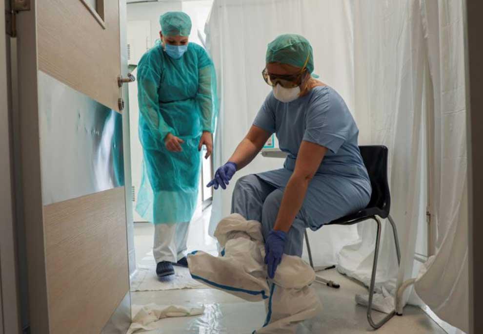 Mbi 500 punonjës shëndetësorë në Serbi janë infektuar me koronavirus