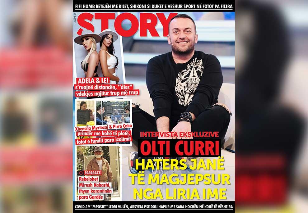 Olti Curri: Haters janë të magjepsur nga liria ime!