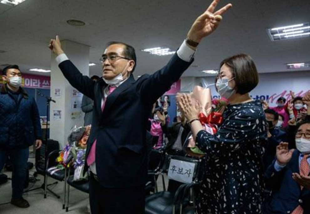 U votua me maska, Moon Jae-in fiton zgjedhjet në Korenë e Jugut