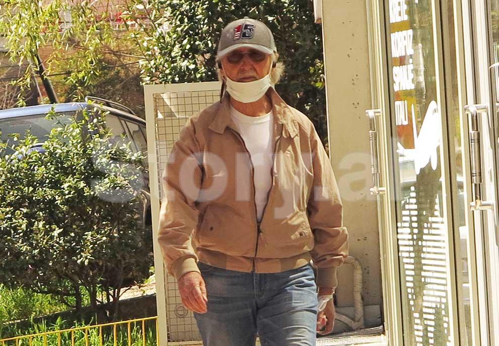 PAPARAZZI/ Rebelohet Mirush Kabashi, aktori 72-vjeçar thyen karantinën para Gardës