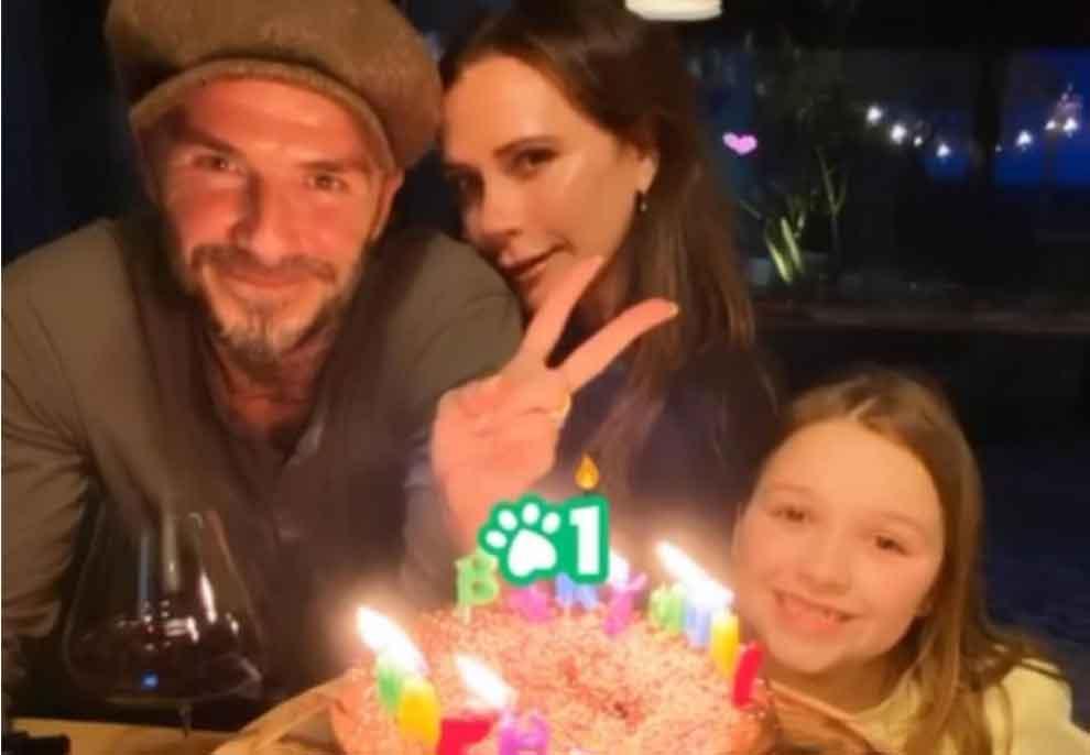 46-vjetori i Victoria Beckham në karantinë