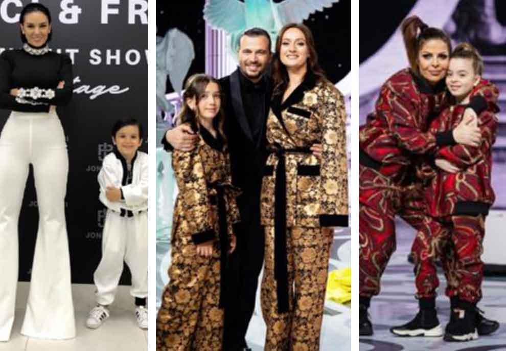 Sfilata e Joni Peçit, VIP-at që u shoqëruan nga fëmijët e tyre