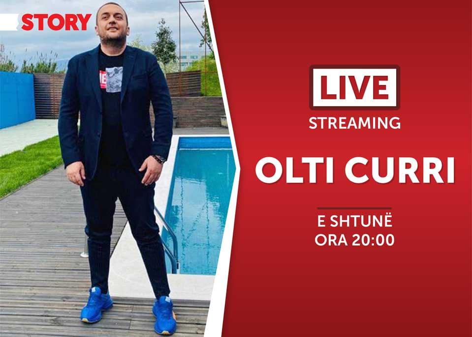 Olti Curri në një rrëfim ekskluziv live për STORY