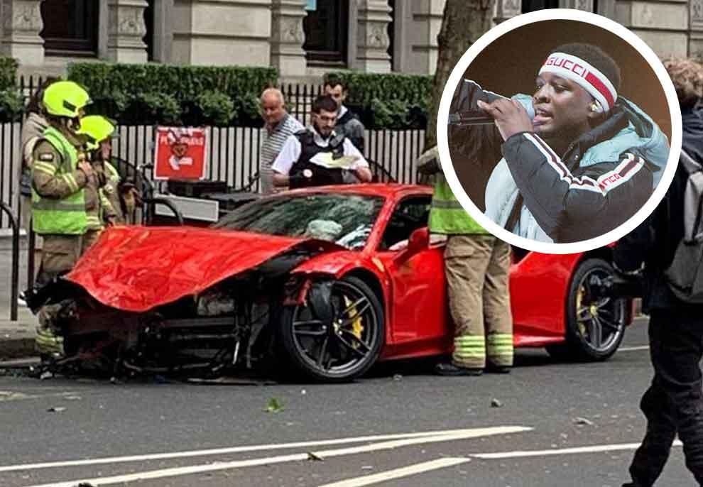 Shpëton për mrekulli, reperi i njohur përplas Ferrarin 250 mijë euro me autobusin dy katësh