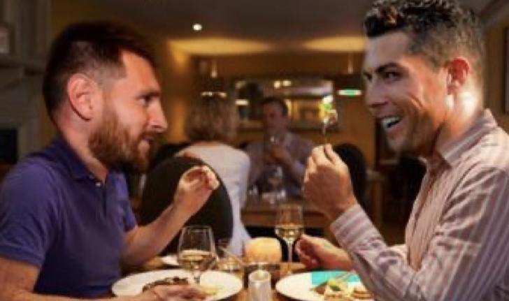 Ronaldo pëlqen patatet me qepë të skuqura, Mesi kotoletën. Ja pjatat e preferuara të yjeve të futbollit
