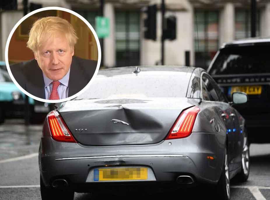 Aksidentohet me makinë kryeministri britanik, Boris Johnson (VIDEO)