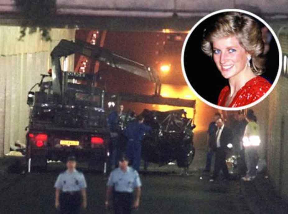 Pa shenja jete brenda makinës, pamjet e rralla nga aksidenti i Princeshë Dianës