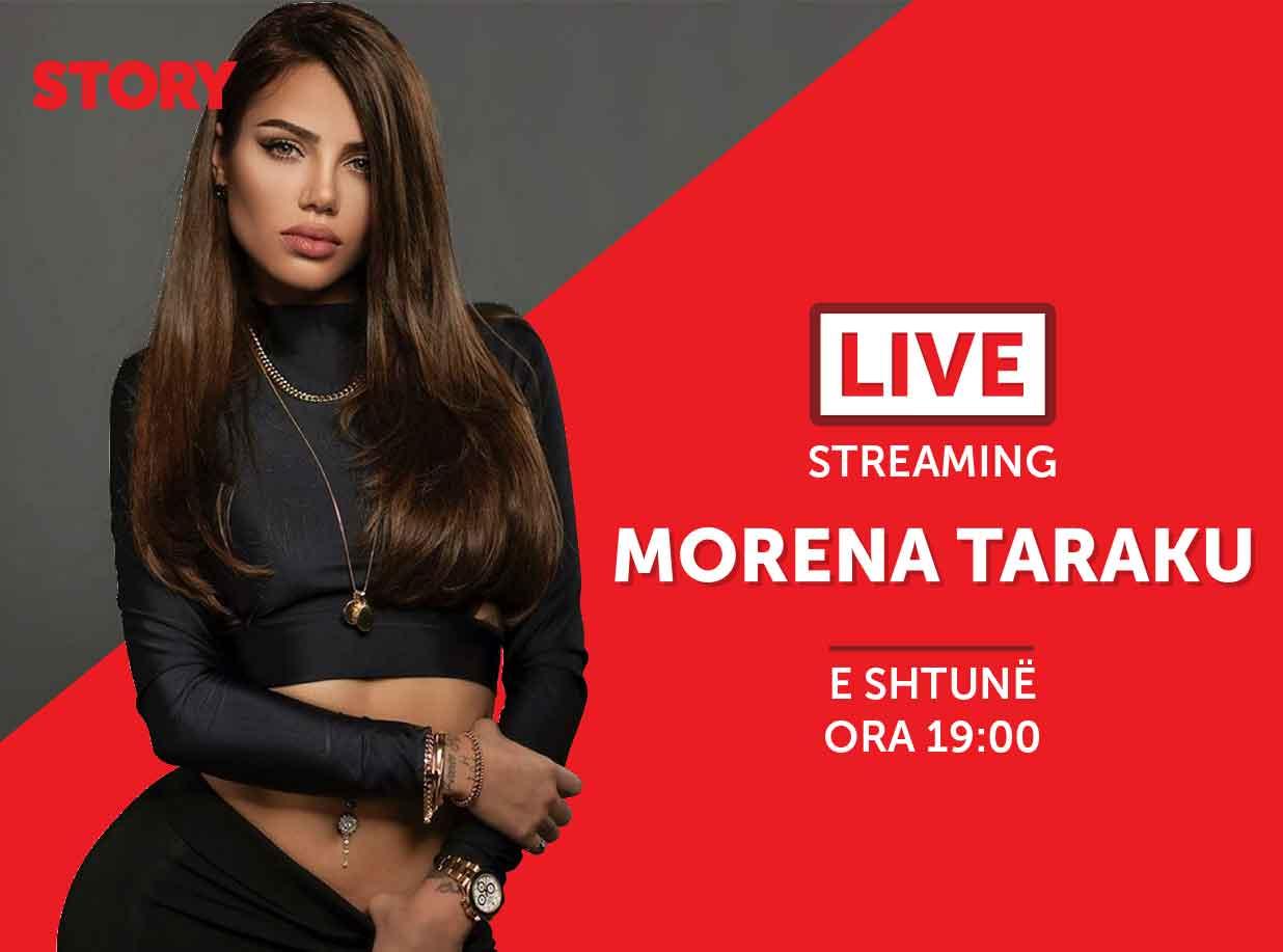 Morena Taraku në një rrëfim ekskluziv live për STORY
