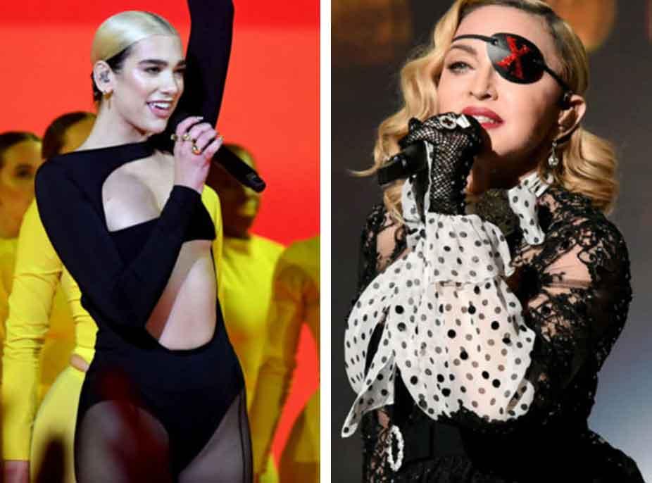 Madonna dhe Dua Lipa mund të sjellin një bashkëpunim