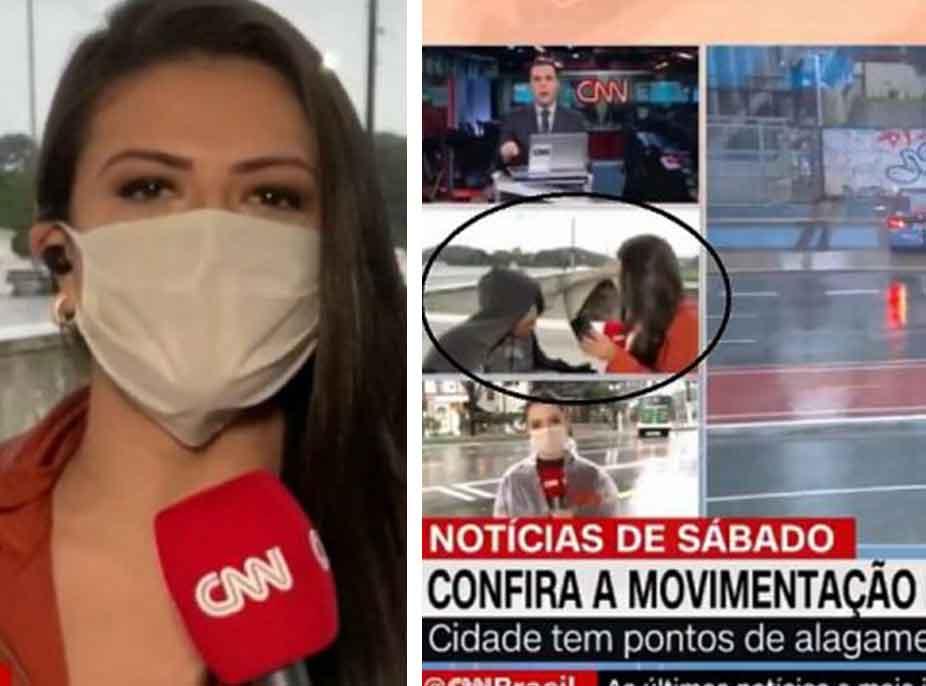 VIDEO/ Gazetarja e CNN grabitet LIVE gjatë raportimit
