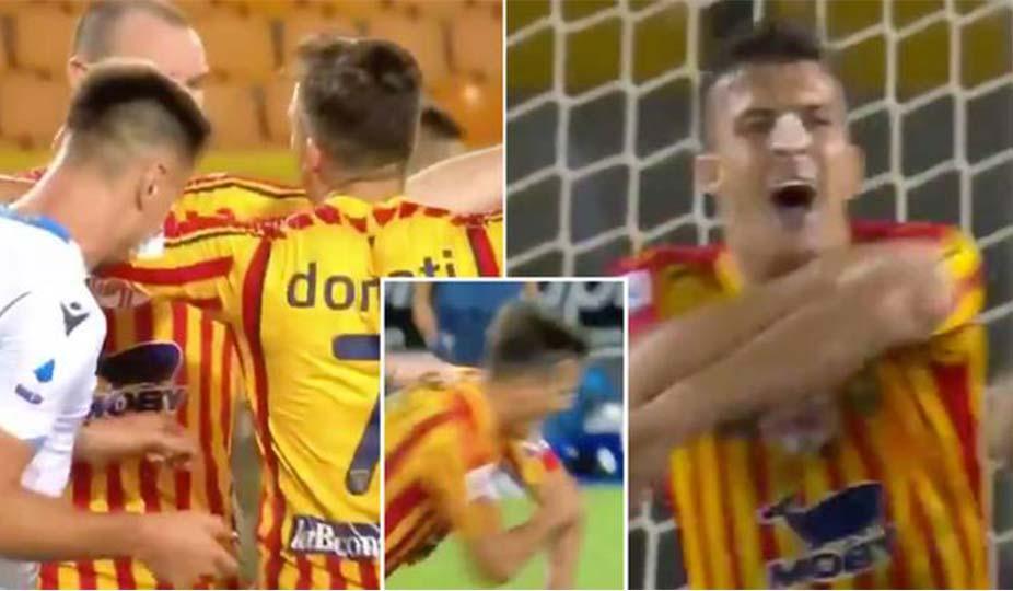 Kafshoi kundërshtarin, mësoni dënimin që ka marrë futbollisti i Lacios