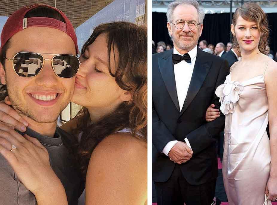 Vajza e Steven Spielberg fejohet me një shqiptar!