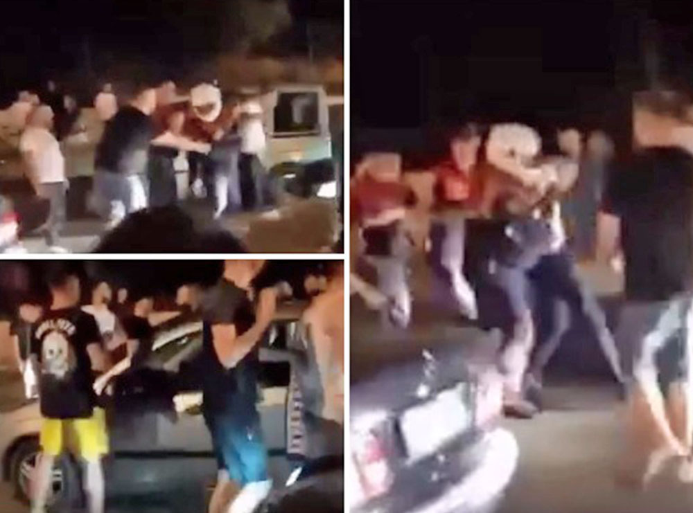 VIDEO/ Policia prish festën e tifozëve të Tiranës, shikoni momentet e tensionit dhe arrestimit
