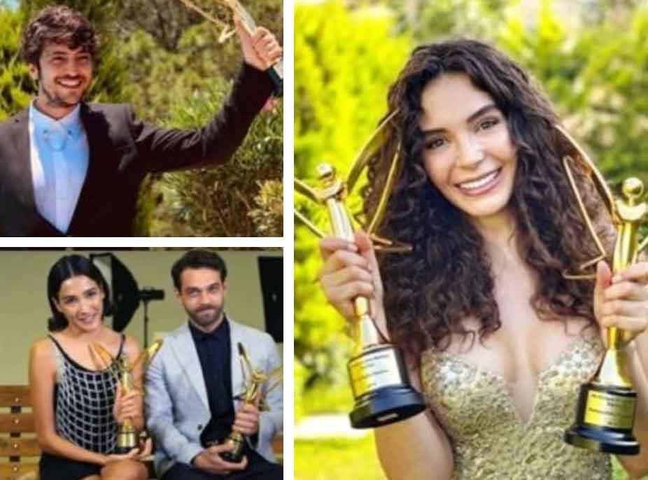 Mbahet eventi i rëndësishëm në Turqi/ Ja kush u shpall seriali dhe aktorët më të mirë të vitit
