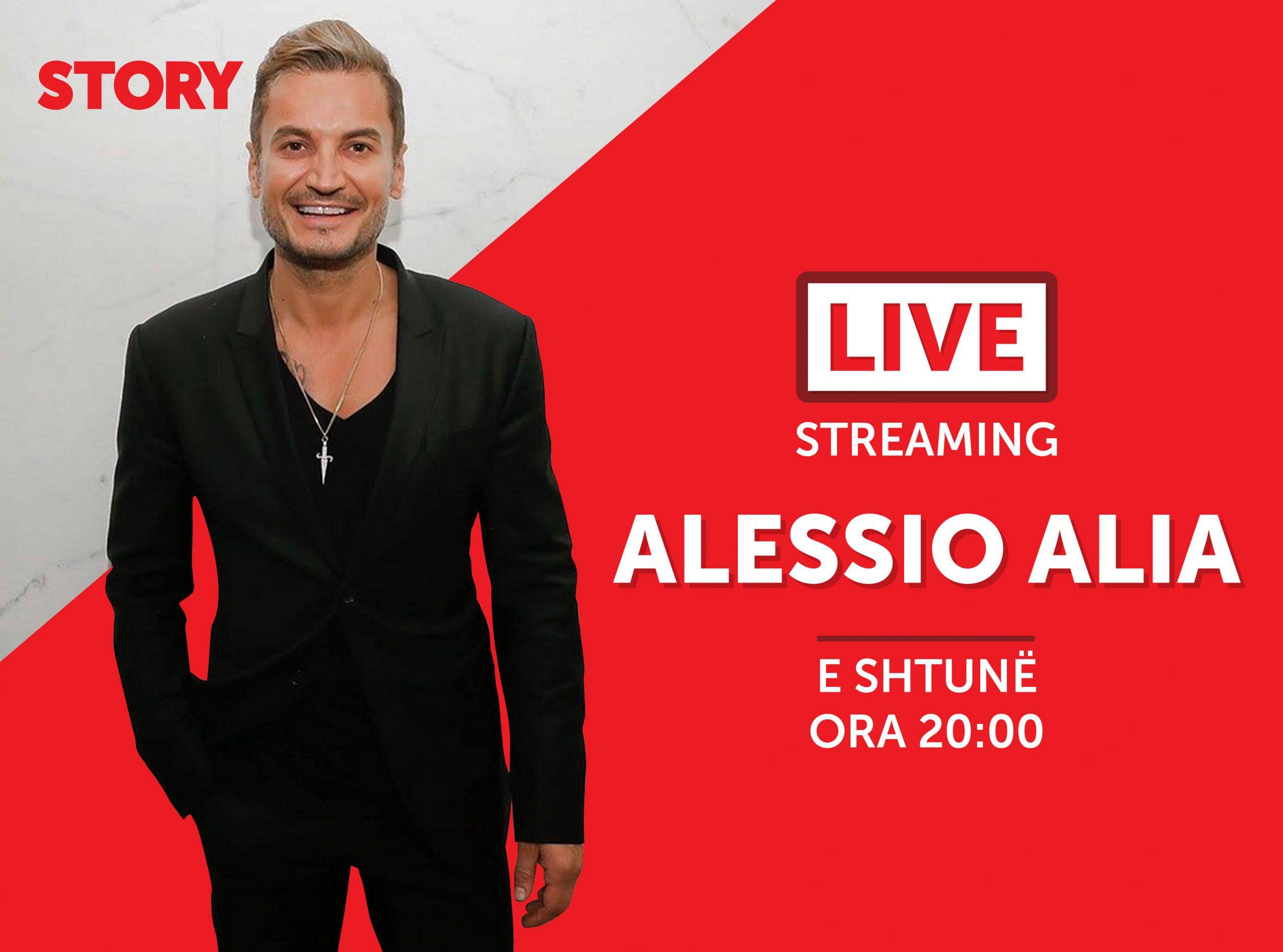 Alessio Alia në një rrëfim ekskluziv live për STORY