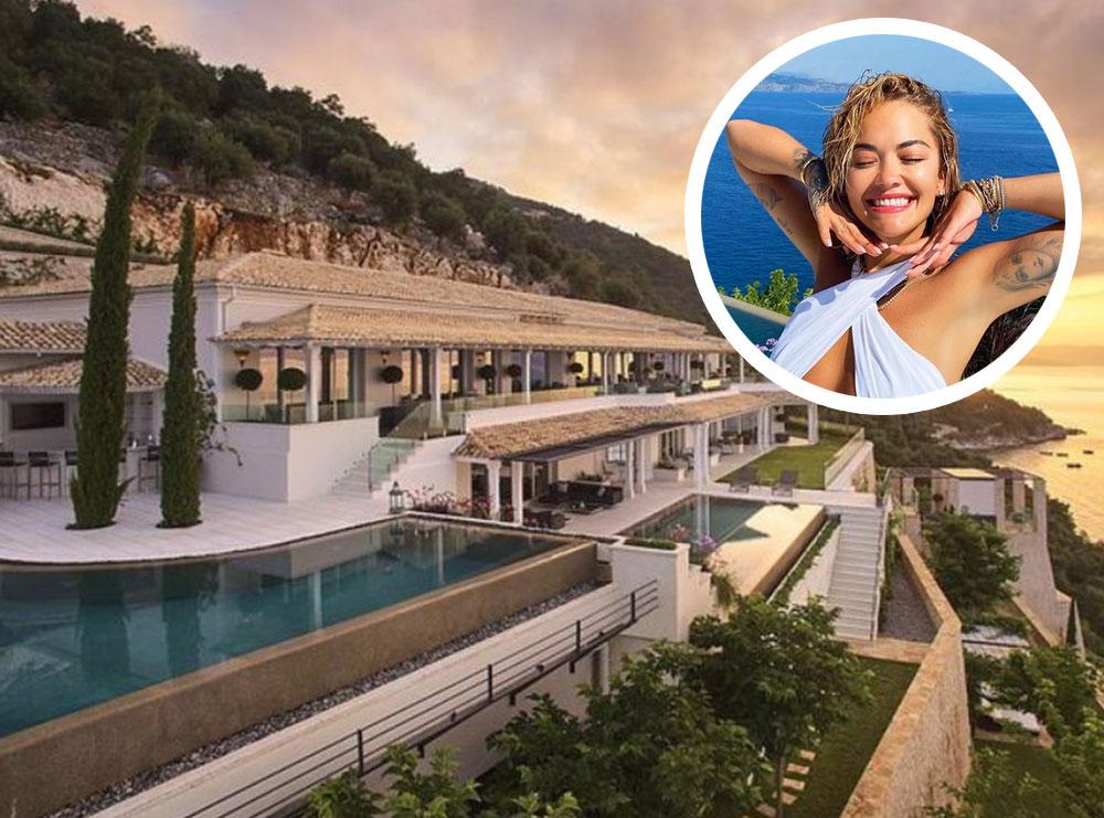 Mbi 22 mijë $ nata/ Shihni super resortin grek ku po pushon Rita Ora me të dashurin (FOTO)
