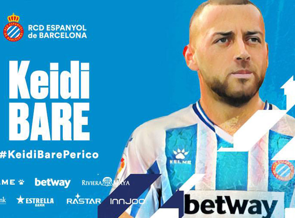 ZYRTARE/ Keidi Bare nënshkruan kontratë 4-vjeçare me klubin e ri
