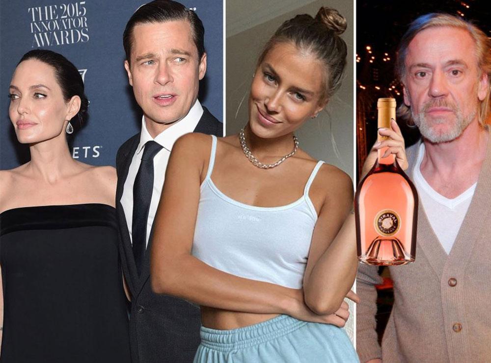 Verërat e Brad Pitt shiten te restoranti i bashkëshortit të Nicole Poturalski