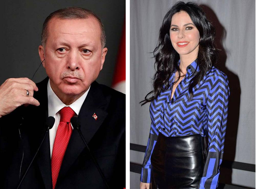 """FOTO+VIDEO/ """"Zonja e fshehtë e Sulltanit"""", mediat greke nuk i ndahen liderit turk: Kjo është e dashura modele e Erdogan"""