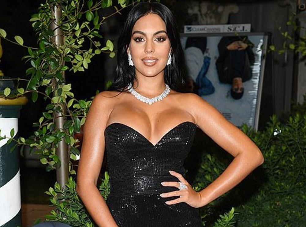Georgina Rodriguez vishet nga stilistja shqiptare, shkëlqen në Festivalin e Filmit në Venecia