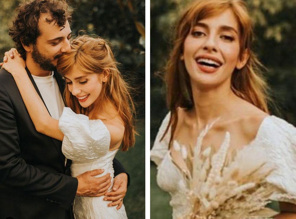 Aktorja e njohur turke i jep fund beqarisë, fotot nga dasma