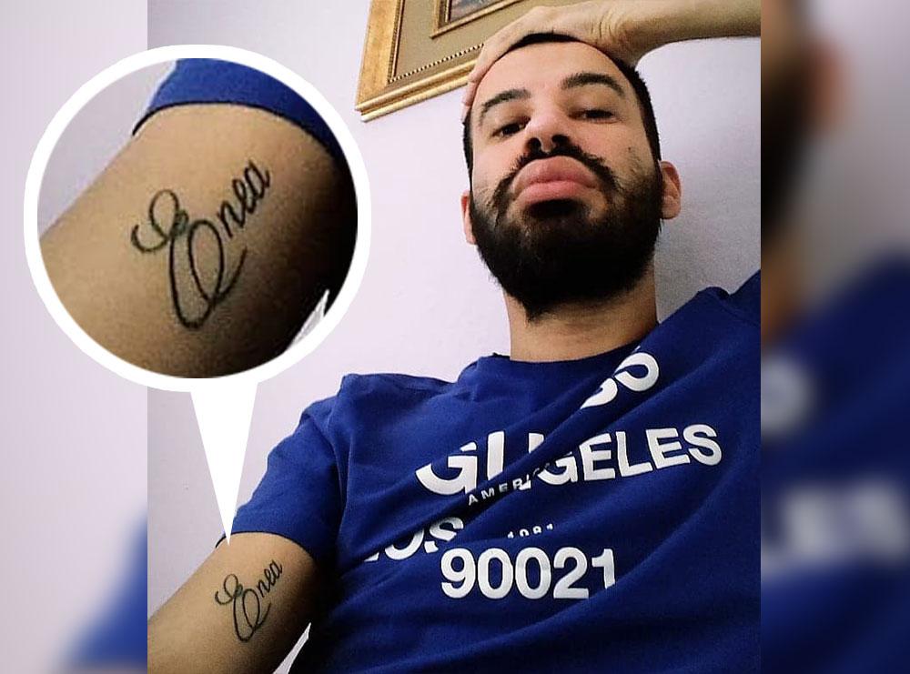 Foto në arrest shtëpie/ Kush është ish-i i Hermes Nikaj, djali me emrin Enea që e mban tattoo në krahun e zemrës