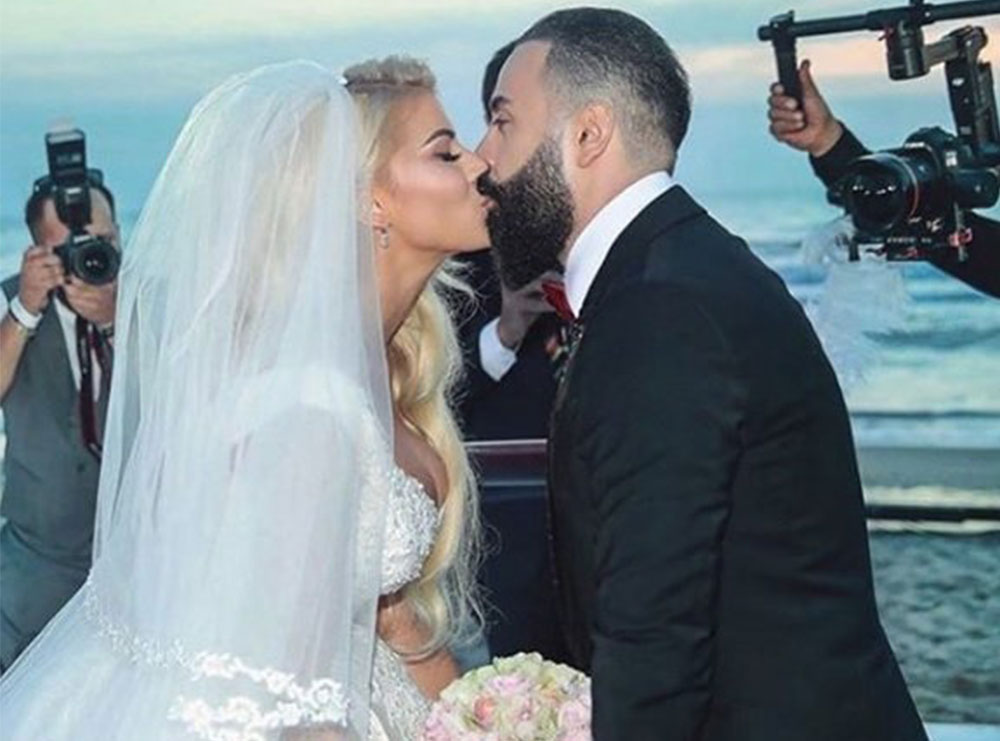 Puthje në shtrat! Marina Vjollca dhe Getoar festojnë përvjetorin e martesës me pamjet intime