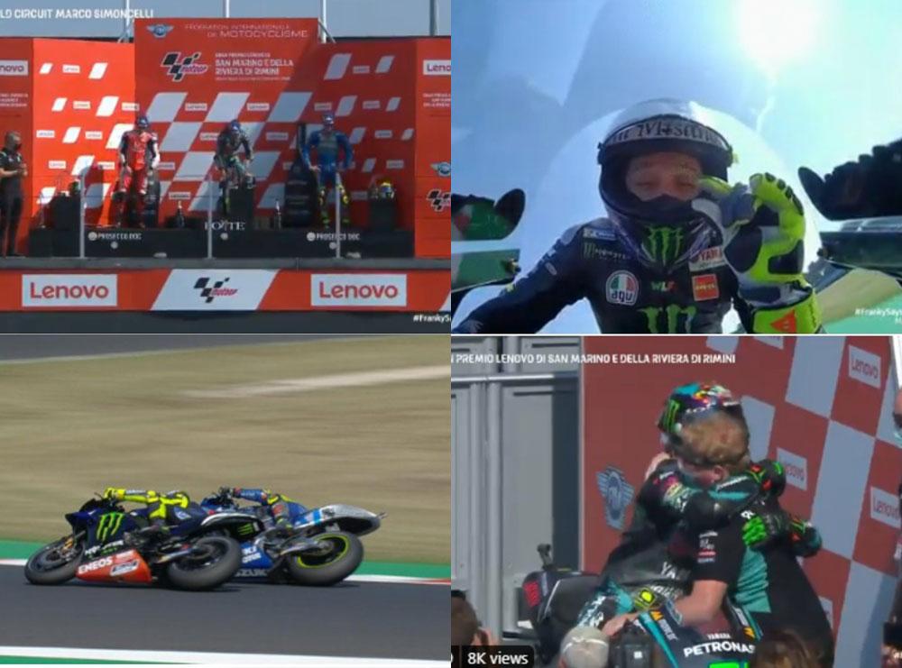 VIDEO/ Fitues i ri në Moto GP, një italian gjen triumfin e parë, sa afër podiumit shkoi Rossi