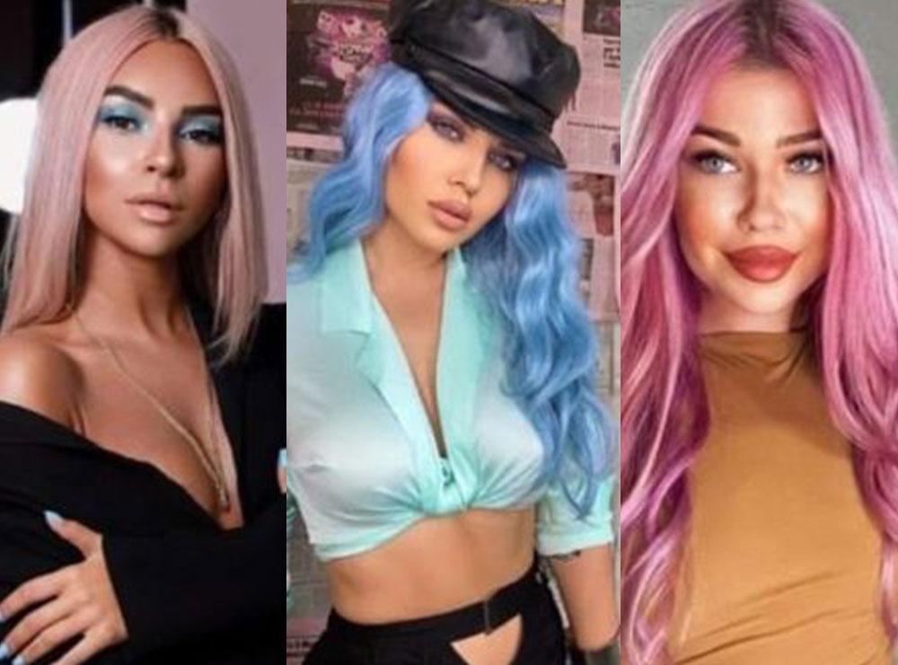 Rikthehet trendi i famshëm/ Vajzat e showbiz-it guxojnë me flokët me ngjyra