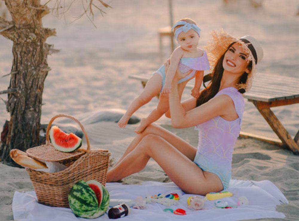 Pas 9 muajsh me Sean, Vilma Masha i prezanton të gjithë me vogëlushen e saj