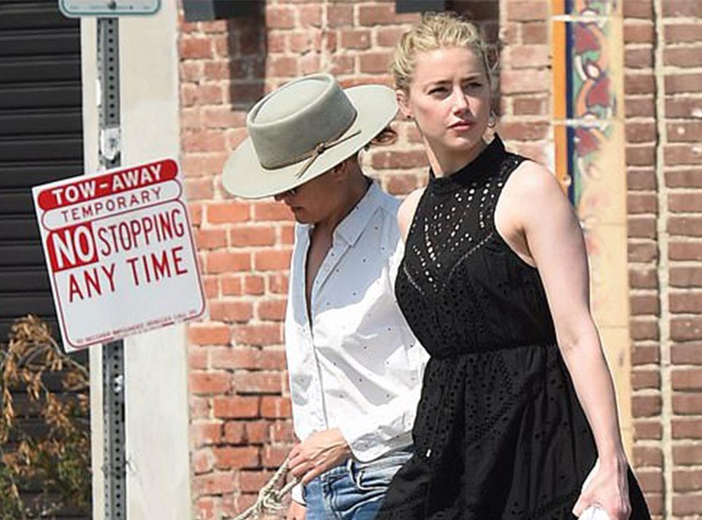 Amber Heard fotografohet me të dashurën e saj (FOTO)