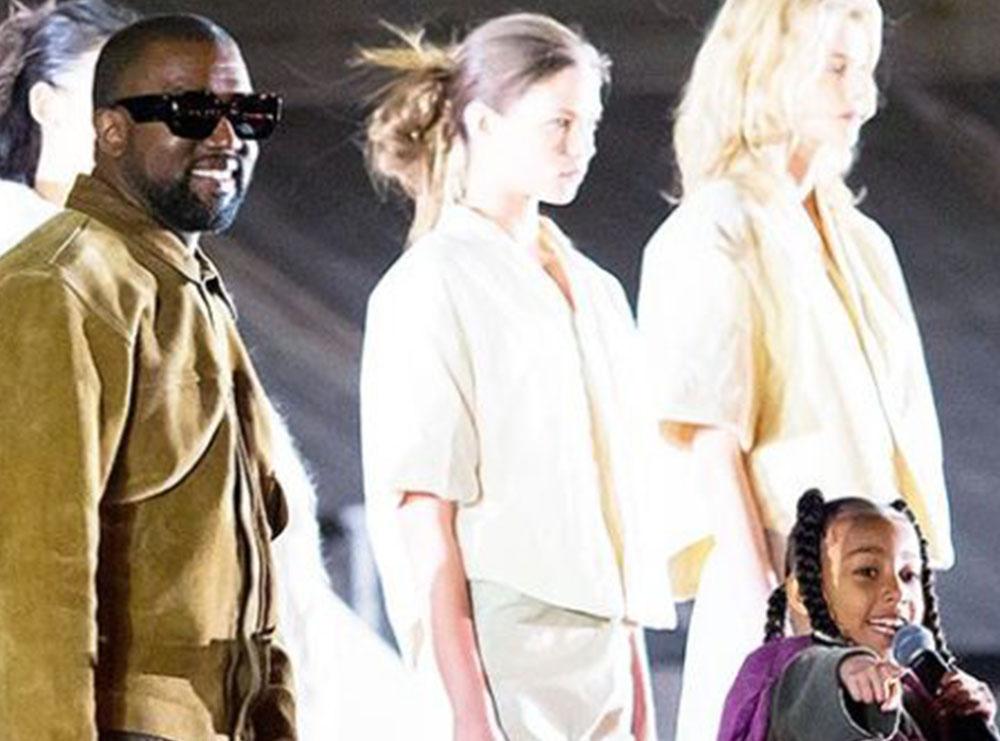 Kanye West nuk mund të ishte krenar më shumë se kaq, North e mahnit me zërin e saj