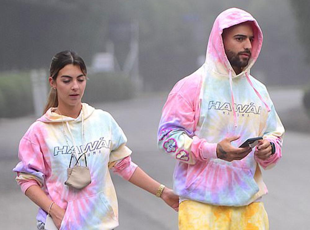 Maluma fotografohet krah të dashurës së re