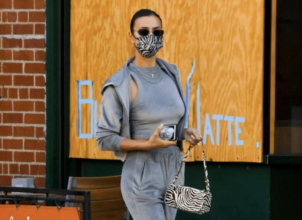 Irina Shayk e çoi modën e kostumeve velvet në një tjetër nivel