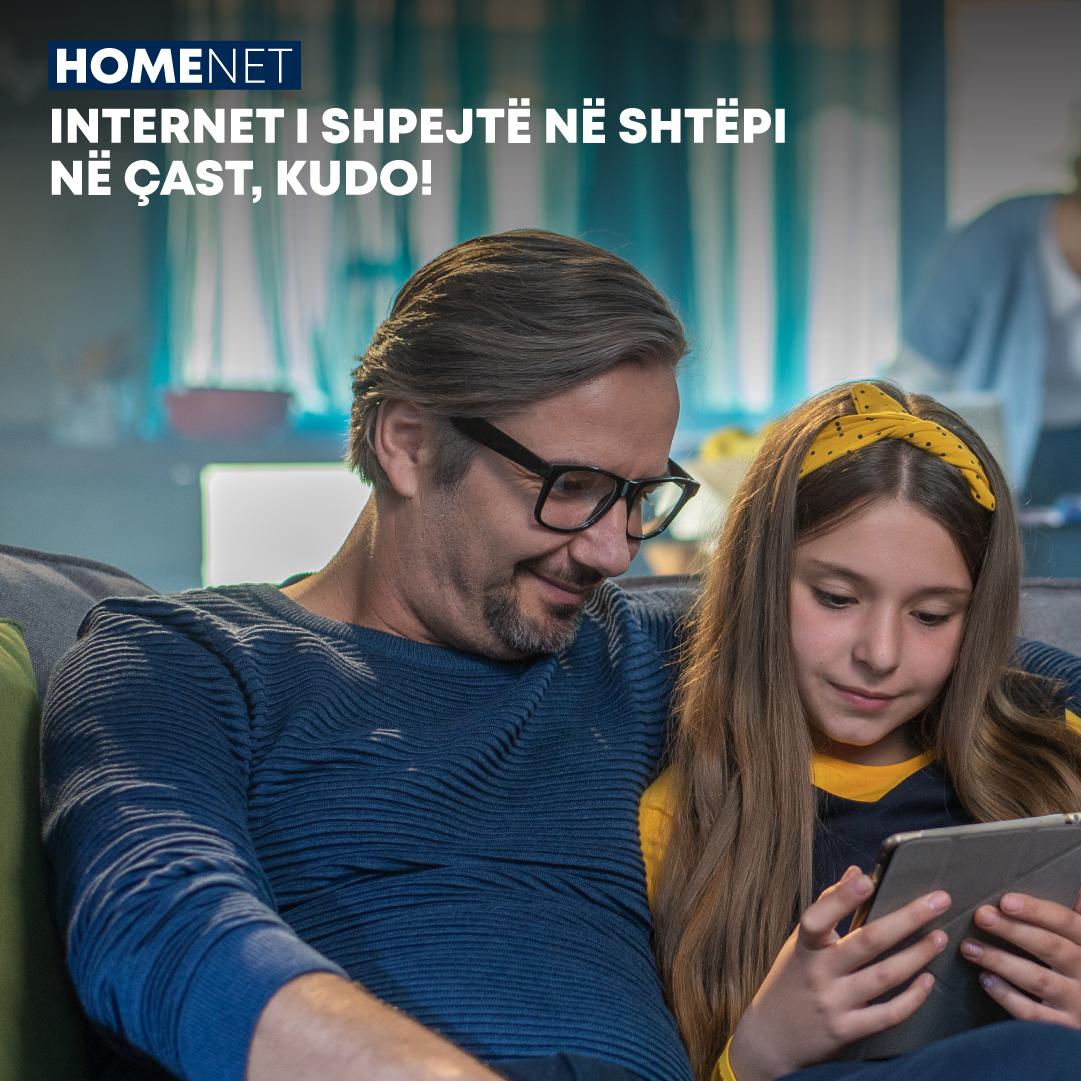 ONE HomeNet, shërbimi më i ri që mundëson internet super të shpejtë, kudo