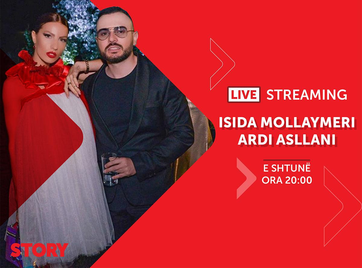 Isida Mollaymeri & Ardi Asllani në një rrëfim ekskluziv live për STORY