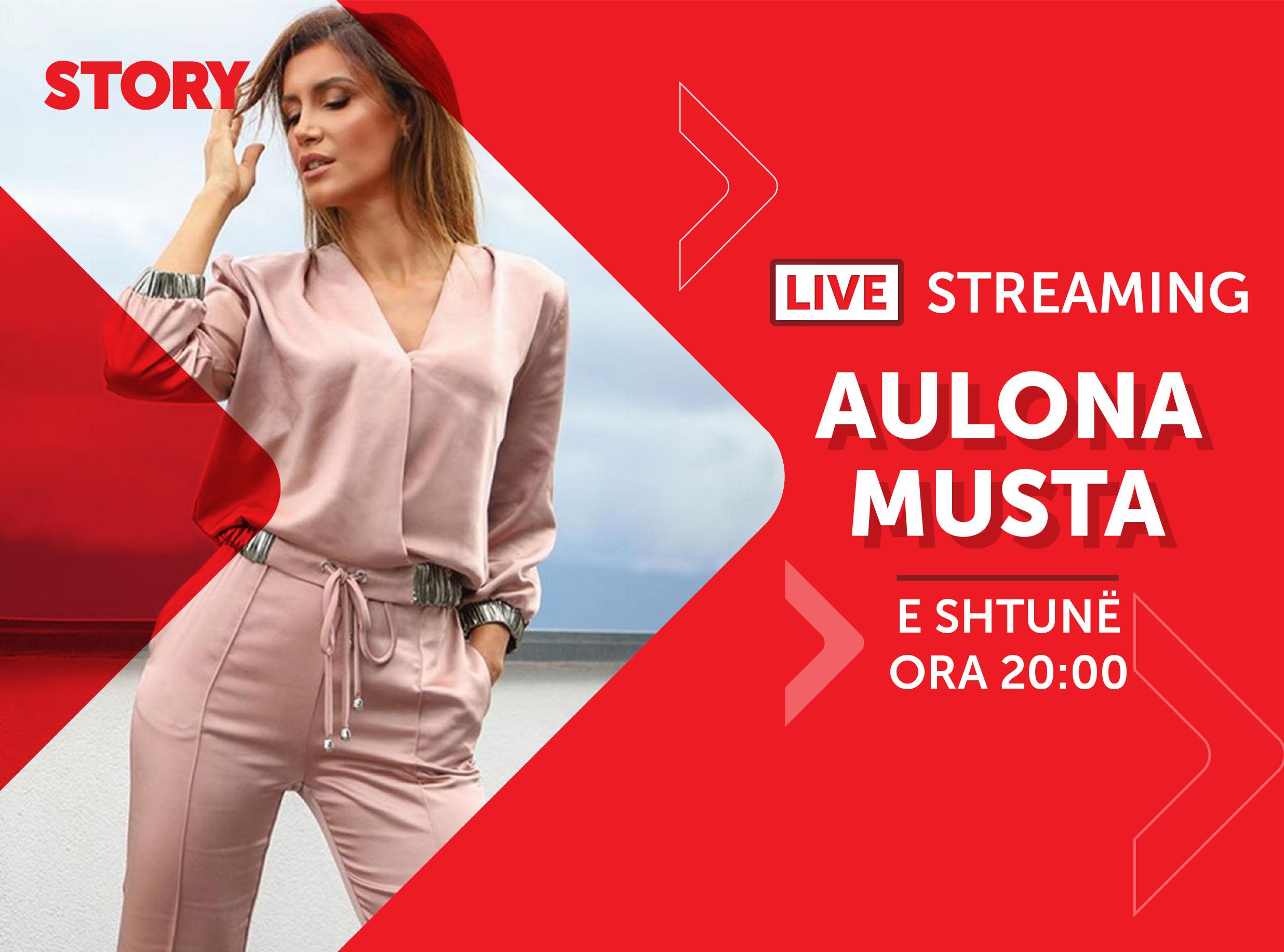 Aulona Musta në një rrëfim ekskluziv live për STORY