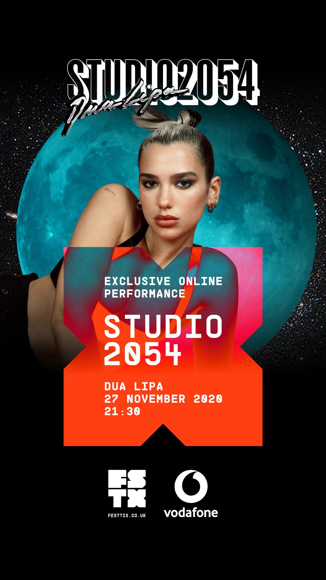 Shake për Studio 2054 Dua Lipa