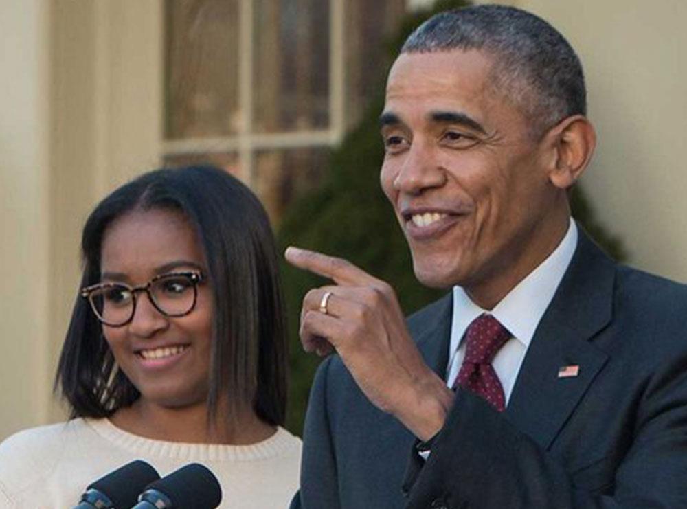 Pse Obama 'frikësohet' nga vajza e tij?