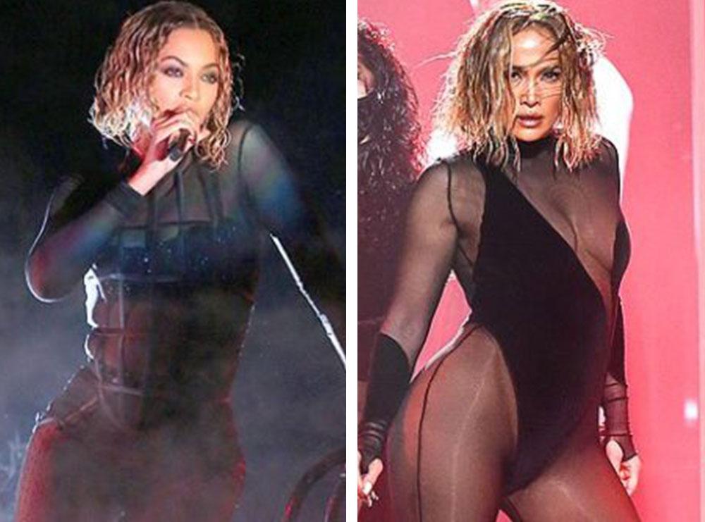 Të gjithë po thonë se Jennifer Lopez ka kopjuar Beyonce-n