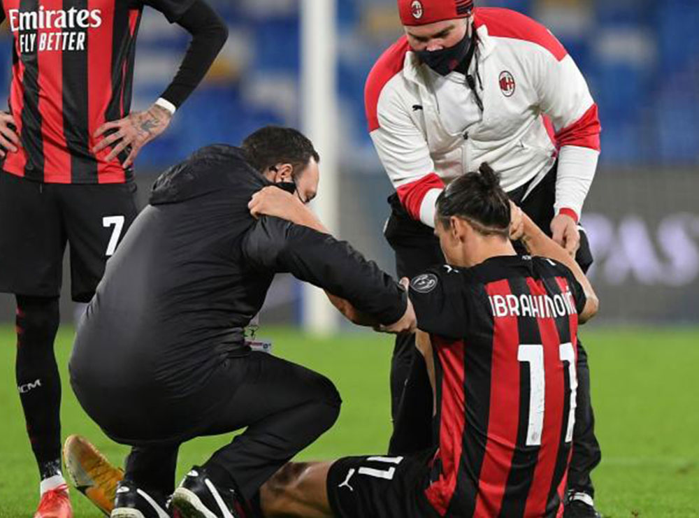 Ibra frikëson tifozët e Milanit, zbulohet dëmtimi dhe koha që mund të mungojë