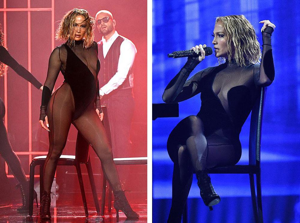 Skena erotike me Maluma-n dhe veshje provokuese, por Jennifer Lopez merr kritika të shumta për performancën në AMAs